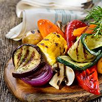 Gemüse gegrillt